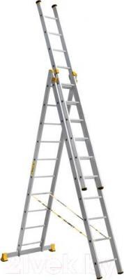Лестница-стремянка Алюмет P3 9312 - общий вид