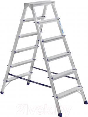 Лестница-стремянка Алюмет 7206 - общий вид