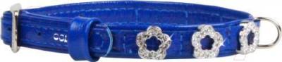 Ошейник Collar Brilliance 48982 (XS, синий, с украшением) - общий вид