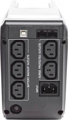 ИБП Powercom IMP-625AP - вид сзади