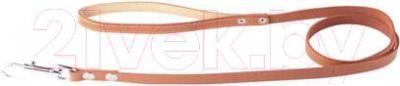 Поводок Collar 04566 (коричневый, непрошитый) - общий вид