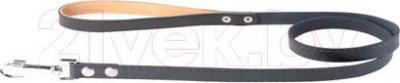 Поводок Collar 04731 (черный, непрошитый) - общий вид