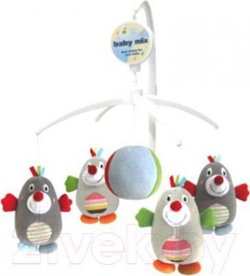 Каруселька на кроватку Baby Mix 350 (Пингвинчики) - общий вид