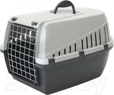 Переноска для животных Savic Trotter 2 3261000T (темно-серый/серый) - общий вид