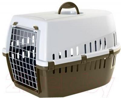 Переноска для животных Savic Trotter 3 326200CL (коричнево-серый) - общй вид