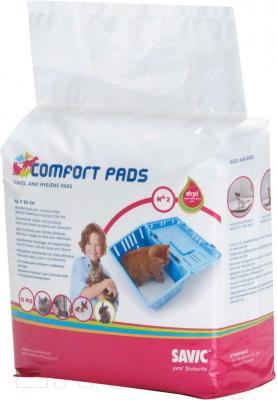 Одноразовая пеленка для собак Savic Comfort pads 2 (12шт) - общий вид