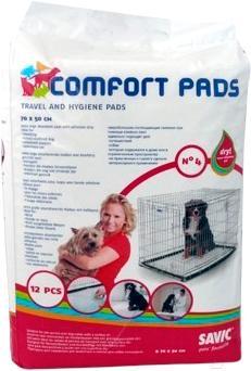 Одноразовая пеленка для собак Savic Comfort pads 4 (12шт) - общий вид