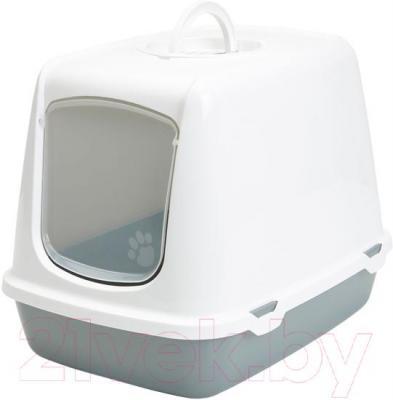 Туалет-домик Savic Oscar (Light Gray-Gray) - общий вид