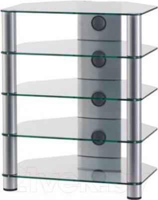 Стойка для ТВ/аппаратуры Sonorous RX 2150-C-SLV - общий вид