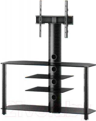 Стойка для ТВ/аппаратуры Sonorous NEO 1114-B-HBLK - общий вид