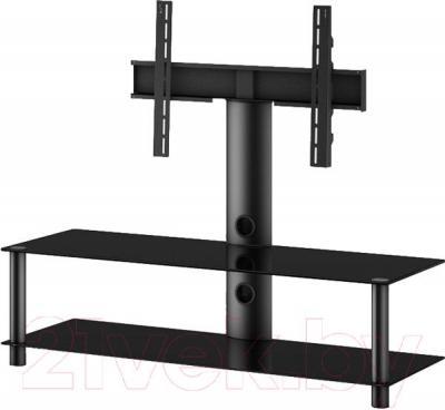 Стойка для ТВ/аппаратуры Sonorous NEO 130-B-BLK - общий вид