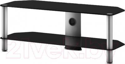 Стойка для ТВ/аппаратуры Sonorous NEO 2130-B-SLV - общий вид
