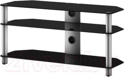 Стойка для ТВ/аппаратуры Sonorous NEO 3130-B-SLV - общий вид