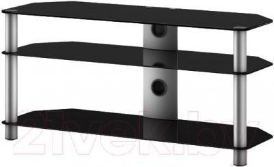Стойка для ТВ/аппаратуры Sonorous NEO 3110-B-SLV - общий вид