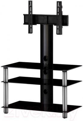 Стойка для ТВ/аппаратуры Sonorous NEO 803-B-SLV - общий вид