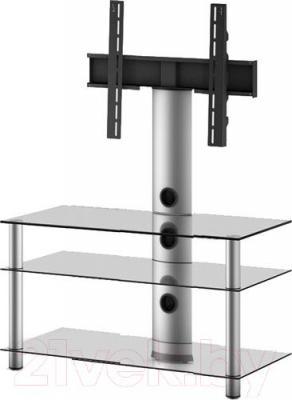 Стойка для ТВ/аппаратуры Sonorous NEO 803-C-SLV - общий вид