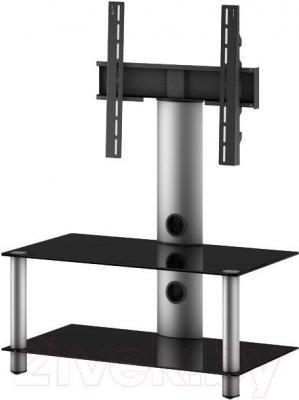 Стойка для ТВ/аппаратуры Sonorous NEO 80-B-SLV - общий вид