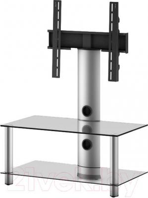 Стойка для ТВ/аппаратуры Sonorous NEO 80-C-SLV - общий вид