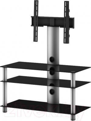 Стойка для ТВ/аппаратуры Sonorous NEO 953-B-SLV - общий вид