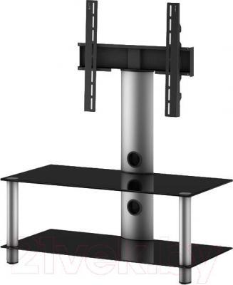 Стойка для ТВ/аппаратуры Sonorous NEO 95-B-SLV - общий вид