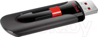 Usb flash накопитель SanDisk Cruzer Glide Black 128GB (SDCZ60-128G-B35) - общий вид