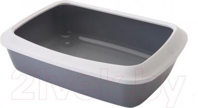 Туалет-лоток Savic Isis 42 (серо-белый) - общий вид