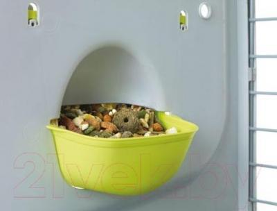 Клетка для грызунов Savic Caesar 3 De Lux - кормушка