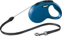 Поводок-рулетка Flexi New CLASSIC 11792 (M, синий) -