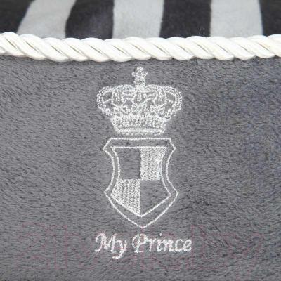 Лежанка для животных Trixie My Prince 37823 (Gray) - нашивка