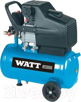 Воздушный компрессор Watt WT-2024A - общий вид