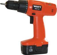 Профессиональная дрель-шуруповерт Watt Pro WAS-12 (1.012.013.00) -