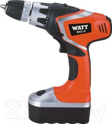 Профессиональная дрель-шуруповерт Watt Pro WAS-18 (1.018.013.00) - общий вид