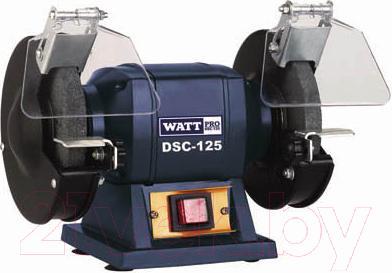 Профессиональный точильный станок Watt DSC-125 (21.180.125.00) - общий вид