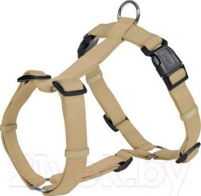 Шлея Trixie Premium H-harness 20335 (S-М, бежевый) - общий вид