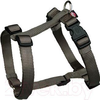 Шлея Trixie Premium H-harness 20336 (S-М, Dark Gray) - общий вид