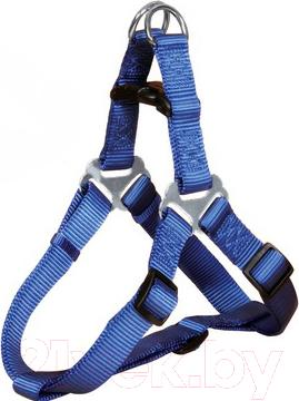 Шлея Trixie Premium Harness 20442 (S, Blue) - общий вид
