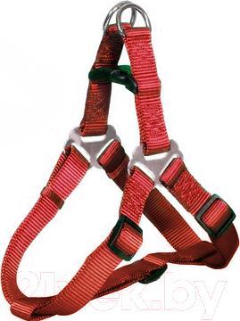 Шлея Trixie Premium Harness 20443 (S, Red) - общий вид