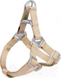 Шлея Trixie Premium Harness 20455 (M, бежевый) - общий вид