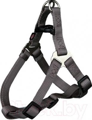 Шлея Trixie Premium Harness 20466 (L, Dark Gray) - общий вид