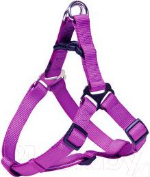 Шлея Trixie Premium Harness 20468 (L, Purple) - общий вид