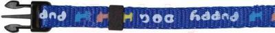 Ошейник с поводком Trixie 15332 (синий) - общий вид