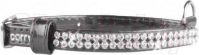Ошейник Collar Brilliance 3264 (XS, черный, с украшением) - общий вид
