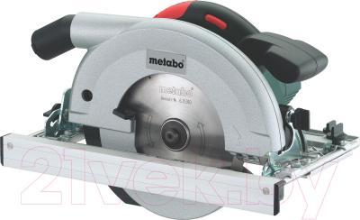 Профессиональная дисковая пила Metabo KS 66 Plus (600544000) - общий вид