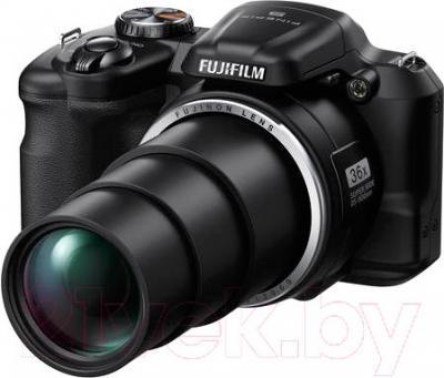 Компактный фотоаппарат Fujifilm FinePix S8600 (Black) - общий вид