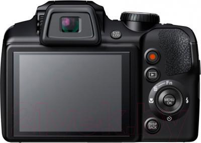 Компактный фотоаппарат Fujifilm FinePix S9400W (Black) - вид сзади