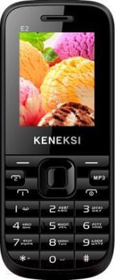 Мобильный телефон Keneksi E2 (черный) - общий вид