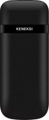 Мобильный телефон Keneksi E2 (черный) - вид сзади