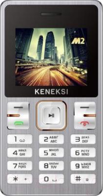 Мобильный телефон Keneksi M2 (серебристый) - общий вид