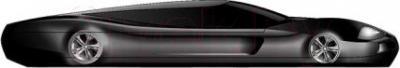 Мобильный телефон Keneksi M5 (черный) - вид сбоку