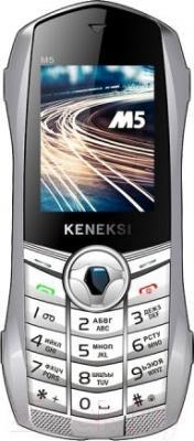 Мобильный телефон Keneksi M5 (белый) - общий вид
